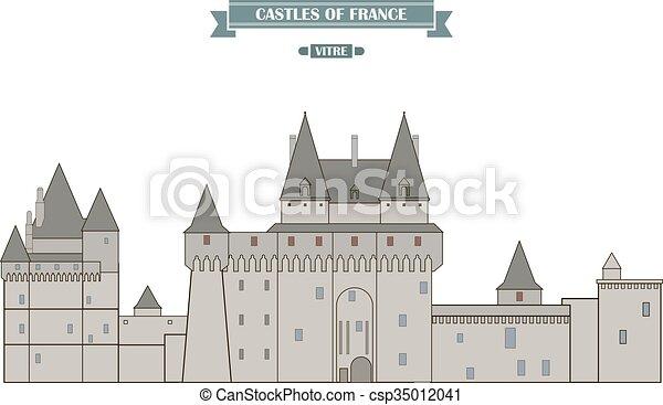 francia, castello, vitre - csp35012041