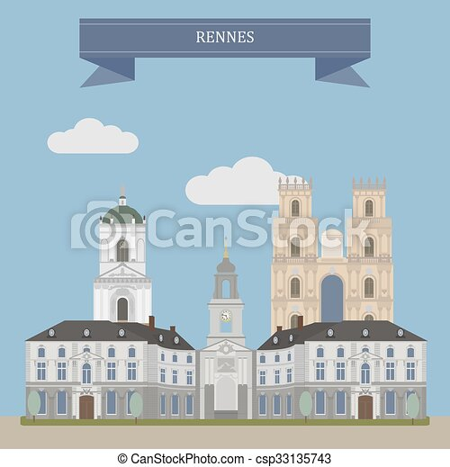 francia, rennes - csp33135743
