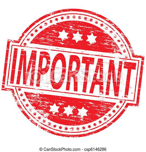 francobollo, importante - csp6146286