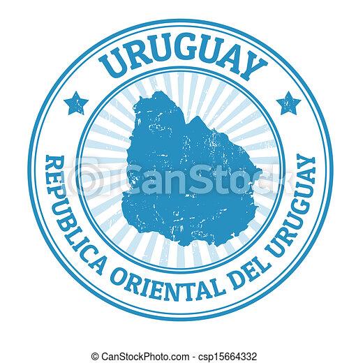 francobollo, uruguay - csp15664332