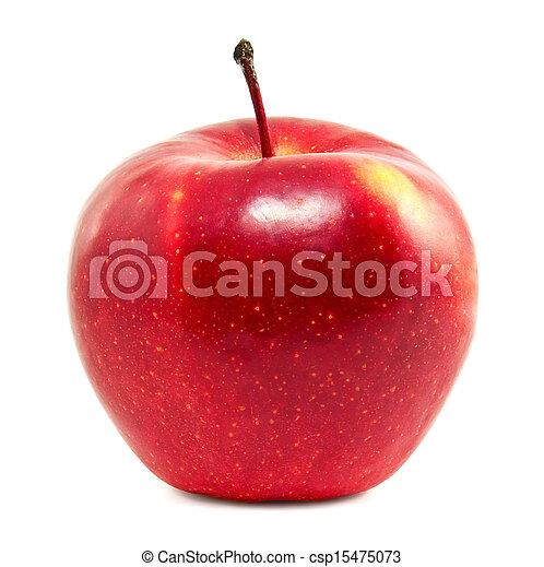 fresco, mela, rosso - csp15475073