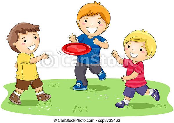 frisbee, gioco - csp3733463