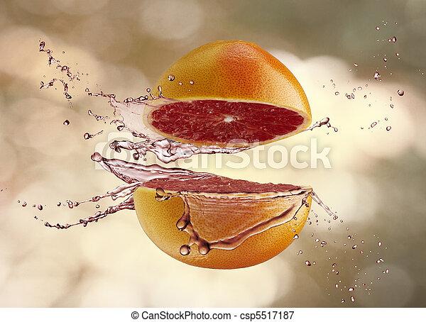 frutta, succoso - csp5517187