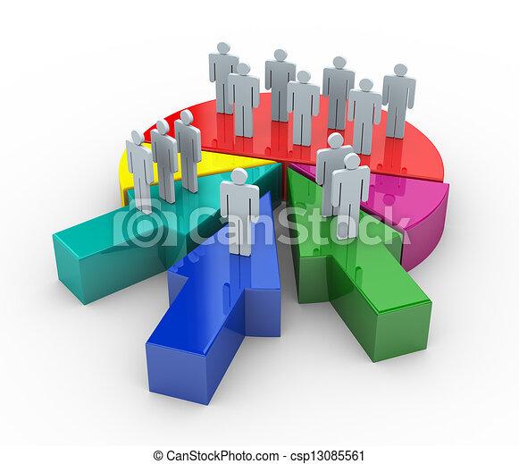 fusione, concetto, affari, 3d - csp13085561
