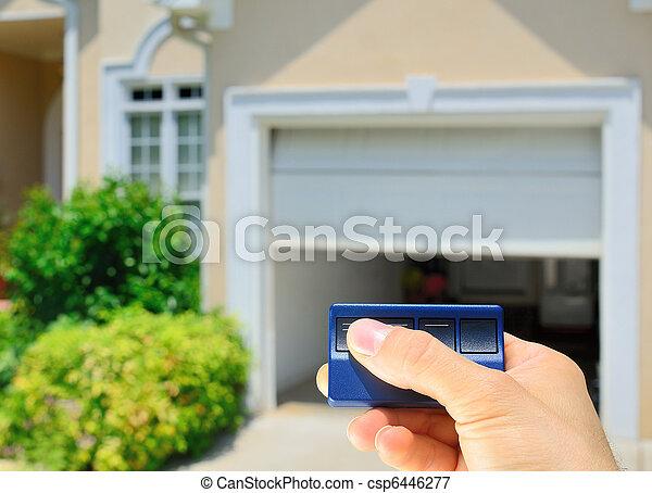 garage, apribottiglie, porta - csp6446277