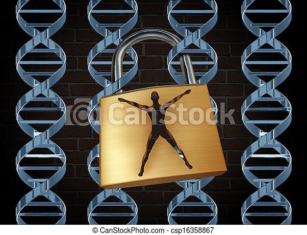 genetico, prigione - csp16358867