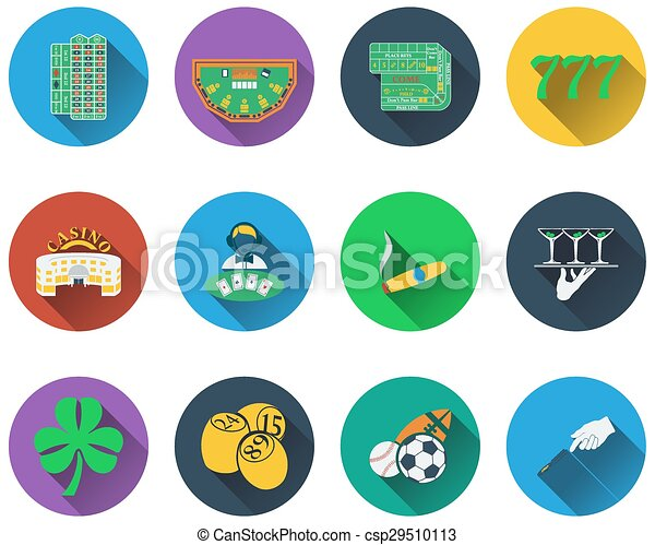 gioco, set, icone - csp29510113