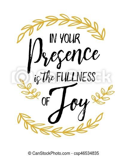 gioia, tuo, pienezza, presenza - csp46534835
