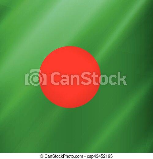giorno, bangladesh, fondo, indipendenza - csp43452195