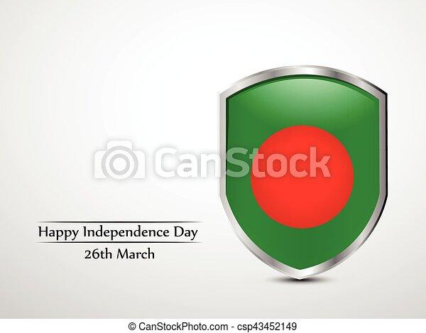 giorno, bangladesh, fondo, indipendenza - csp43452149