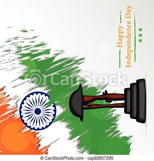 giorno indipendenza, india - csp92657295