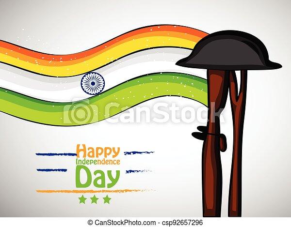 giorno indipendenza, india - csp92657296