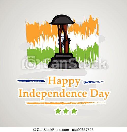 giorno indipendenza, india - csp92657328