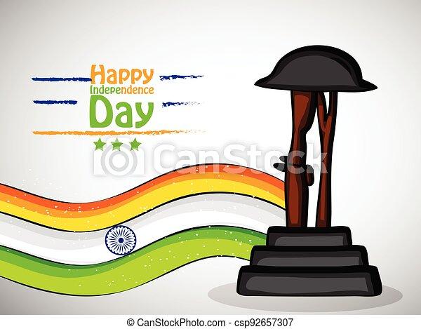 giorno indipendenza, india - csp92657307
