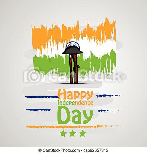 giorno indipendenza, india - csp92657312