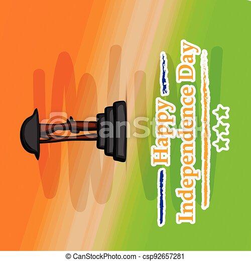 giorno indipendenza, india - csp92657281