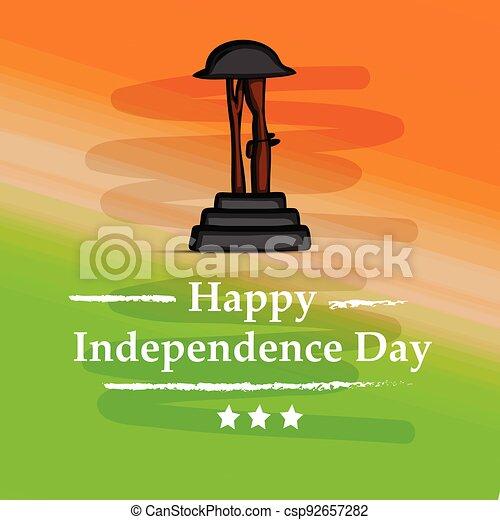 giorno indipendenza, india - csp92657282