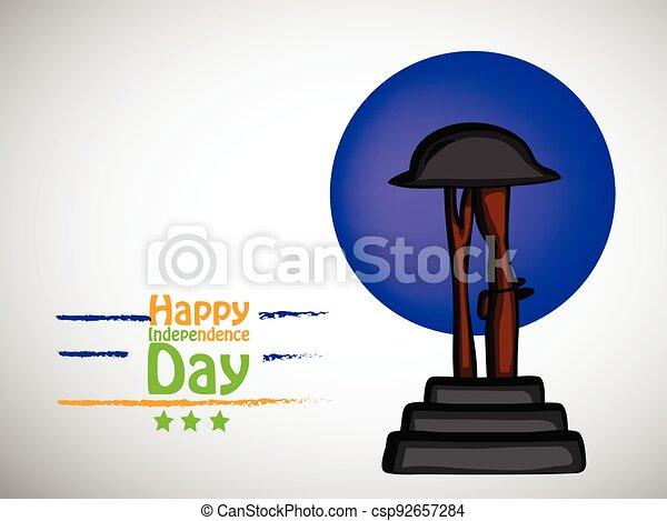 giorno indipendenza, india - csp92657284