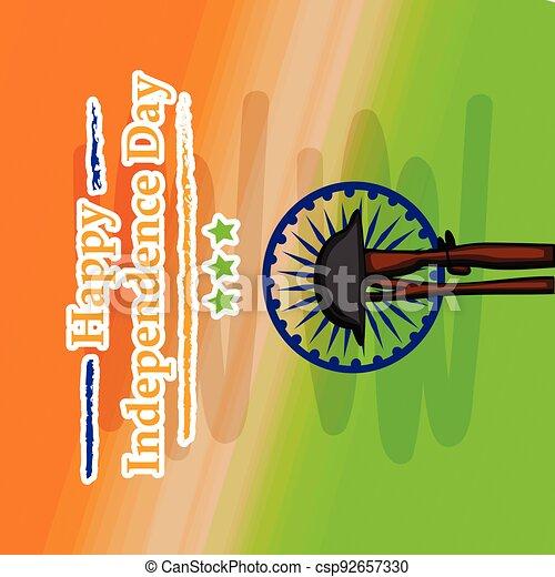 giorno indipendenza, india - csp92657330
