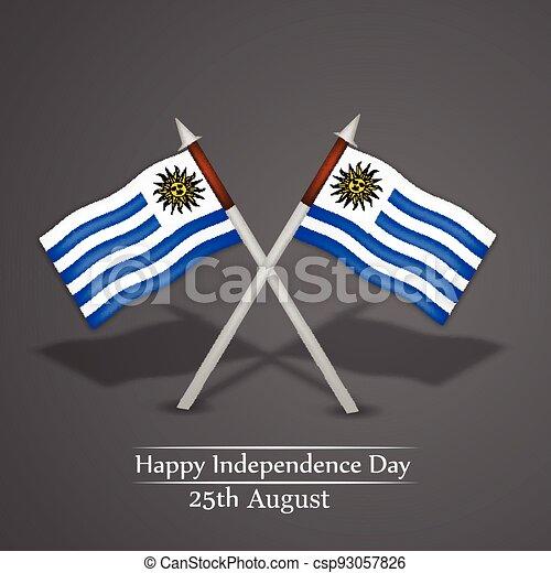 giorno indipendenza, uruguay - csp93057826