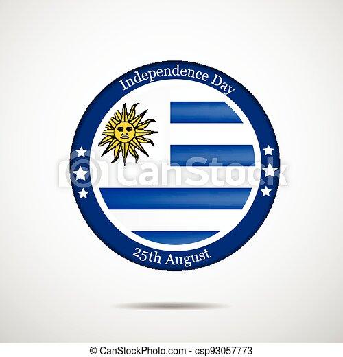 giorno indipendenza, uruguay - csp93057773