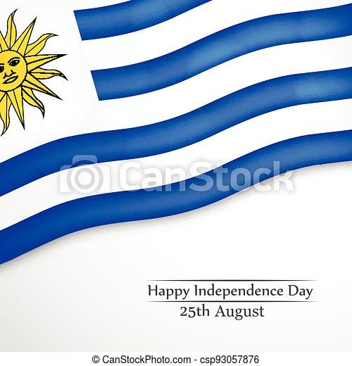 giorno indipendenza, uruguay - csp93057876