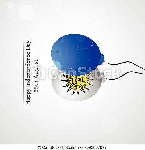 giorno indipendenza, uruguay - csp93057877