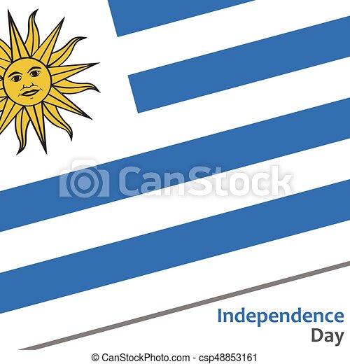 giorno, indipendenza, uruguay - csp48853161