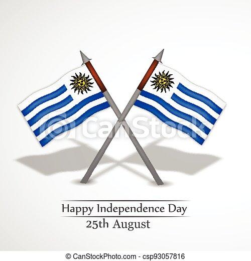 giorno indipendenza, uruguay - csp93057816