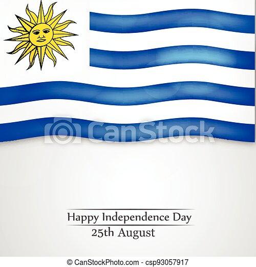 giorno indipendenza, uruguay - csp93057917