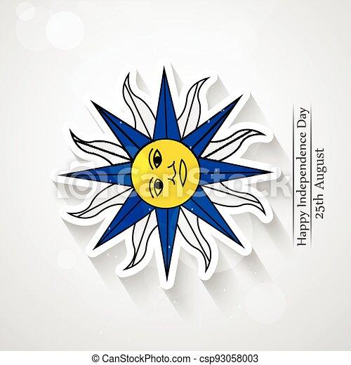 giorno indipendenza, uruguay - csp93058003
