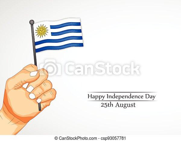 giorno indipendenza, uruguay - csp93057781