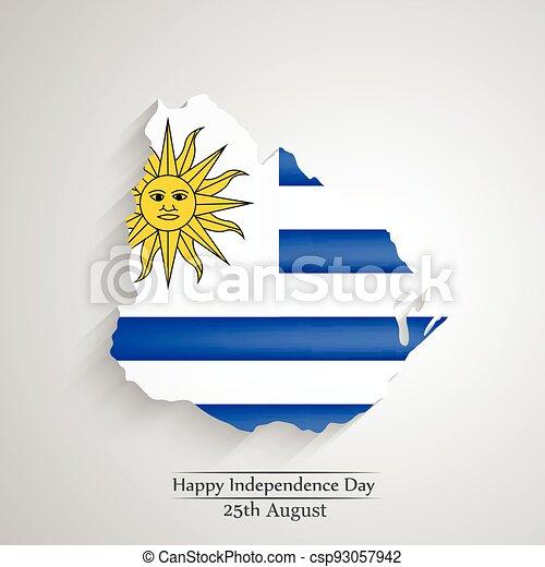 giorno indipendenza, uruguay - csp93057942