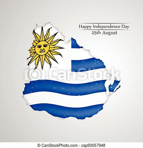 giorno indipendenza, uruguay - csp93057948