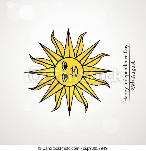 giorno indipendenza, uruguay - csp93057949