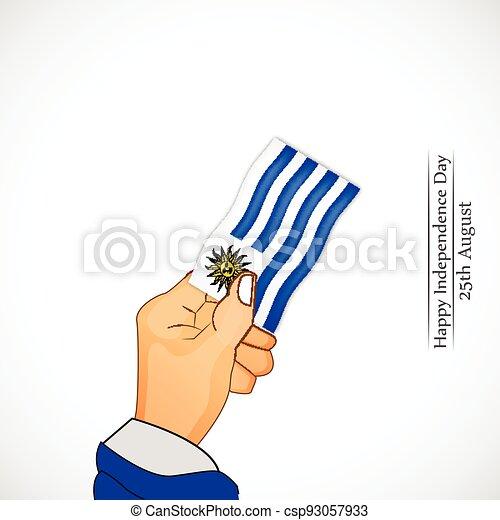 giorno indipendenza, uruguay - csp93057933