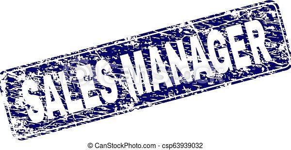 graffiato, arrotondato, francobollo, vendite, incorniciato, direttore, rettangolo - csp63939032