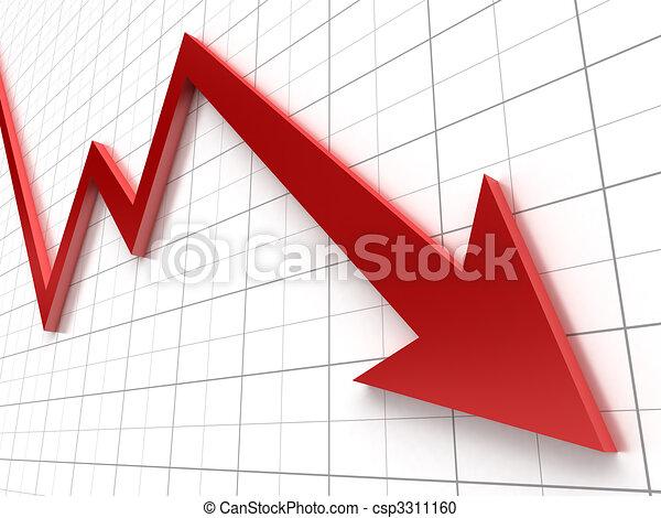 grafico, affari - csp3311160
