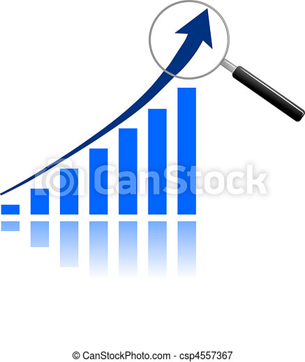 grafico, analisi - csp4557367