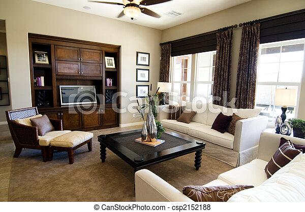 grande, stanza, vivente - csp2152188