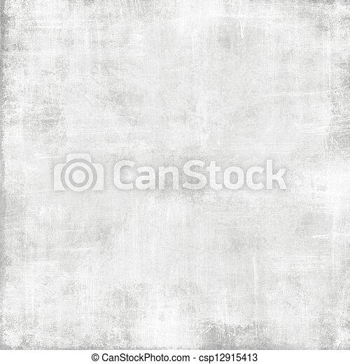 grunge, struttura, astratto, carta, vecchio, fondo, -, bianco - csp12915413