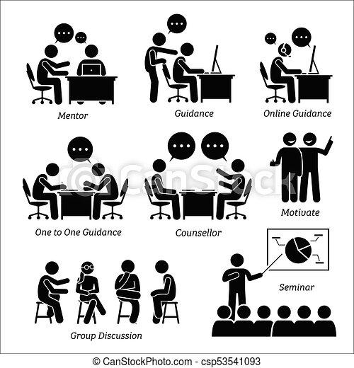 guida, affari, executive., mentore, allenatore - csp53541093