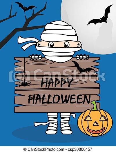 halloween, felice - csp30800457