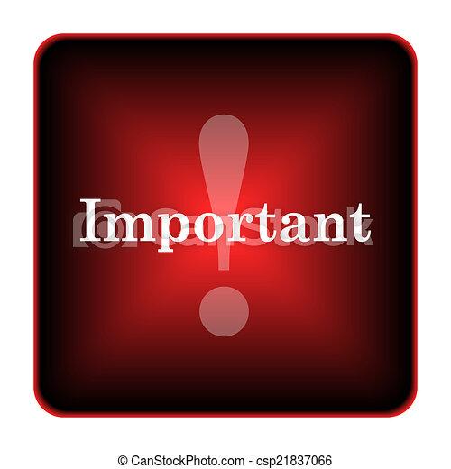 icona, importante - csp21837066