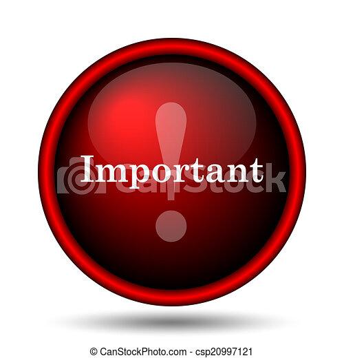 icona, importante - csp20997121