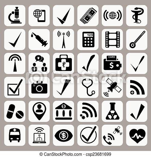icone fotoricettore - csp23681699
