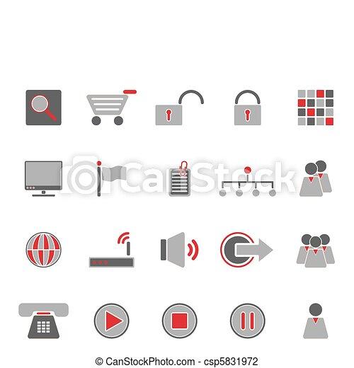 icone fotoricettore - csp5831972