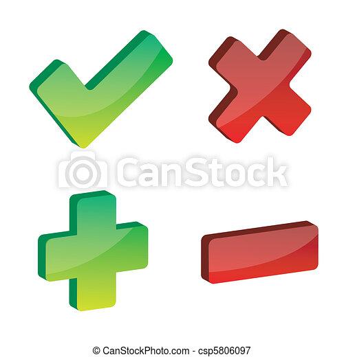 icone fotoricettore - csp5806097