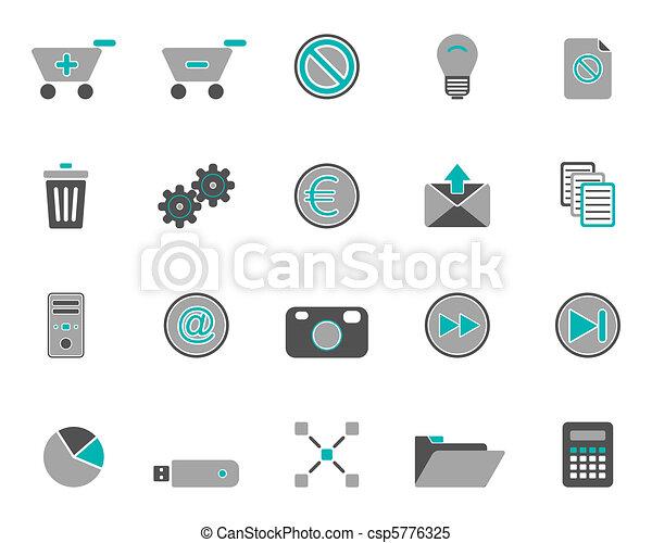 icone fotoricettore - csp5776325