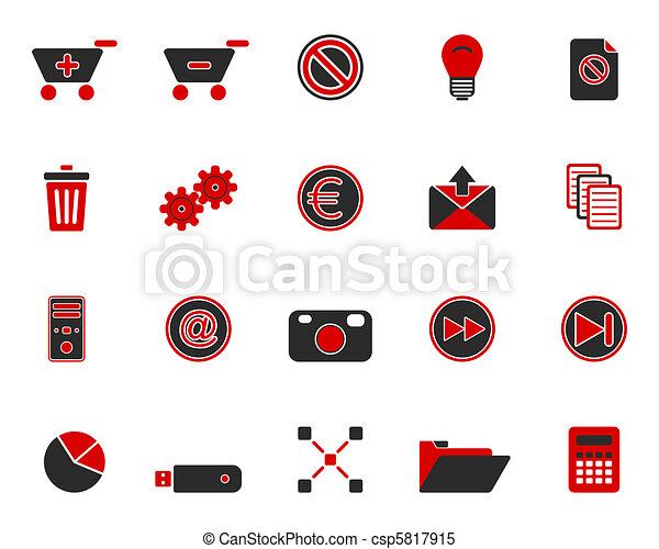 icone fotoricettore - csp5817915